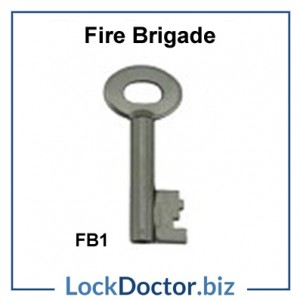 Fire brigade FB1 key available next day from lockdoctorbiz