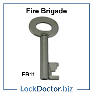 Fire brigade FB11 key available next day from lockdoctorbiz