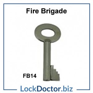 FB14 Fire Brigade Padlock Key