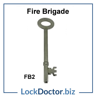 Fire brigade FB2 key available next day from lockdoctorbiz
