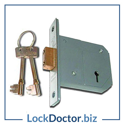 KM162 UNION CHUBB 3G114 5 Lever 80mm Deadlock with keys and step by step fitting instructions on how to change the lock from lockdoctorbiz