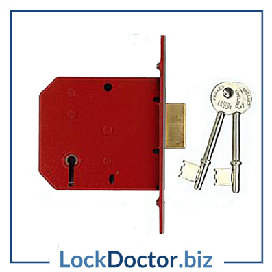 KM3321 UNION 2101 5 Lever 64mm Deadlock supplied with keys and step by step fitting instructions on how to change the lock from lockdoctorbiz