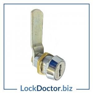 ELITE Locker Lock KM43FORT 22mm F43 mastered camlock for ELITE HENRIVILLE lockers 43001 to 47000 from Lock Doctor Services