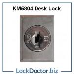 KM5804 DESK LOCK FACE