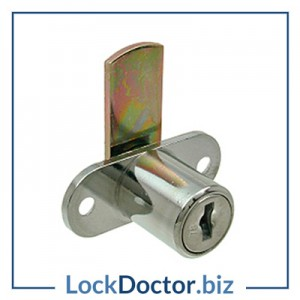 KM5811 Desk Cupboard Lock Mastered with 2 keys from lockdoctorbiz