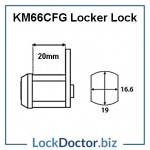 KM66CFG Locker Lock Technical Details