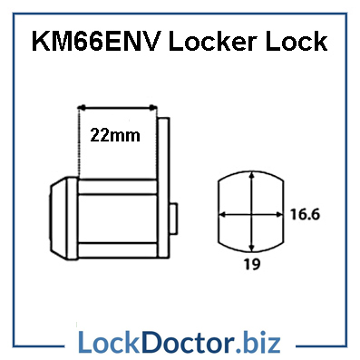 KM66ENV Link Locker Lock Technical Details