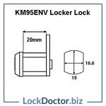 KM95ENV Locker Lock Technical Details