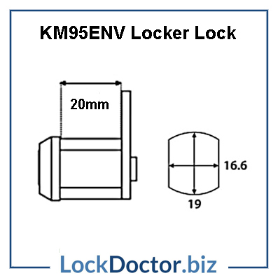 KM95ENV Locker Lock Technical Details