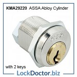 KMA29220 ASSA 8450 locker lock with 2 keys each in the range 1 to 750 under the 29220 Master Key from Lockdoctorbiz
