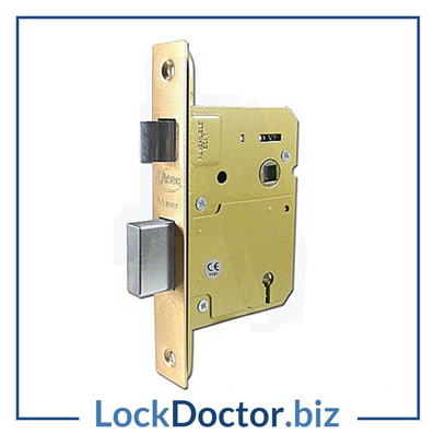 KMAS11325 75mm British Standard 5 Lever Sashlock 2KTD with keys and step by step fitting instructions on how to change the lock