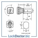 KMB568 Filing Cabinet Technical Details