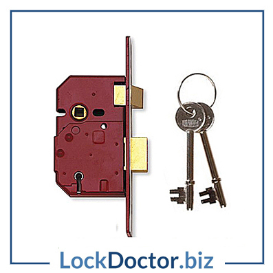 KML12479 UNION 2234E 5 Lever 64mm Sashlock with keys and fitting instructions from lockdoctorbiz