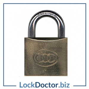 KMTRI50 Tricircle 50mm Heavy Duty Locker Padlock KEYED TO DIFFER with 3 keys each available NEXT DAY from lockdoctorbiz