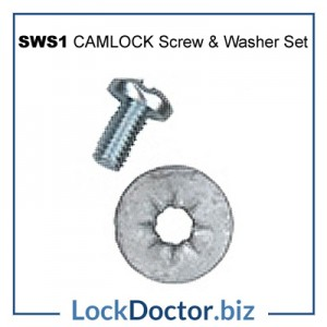 SWS1 Screw and Washer Set for LF ENGLAND Camlocks from lockdoctorbiz