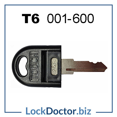 Touch T6 Senator President Office Furniture Touch key Replacement keys 001 to 600 from lockdoctorbiz