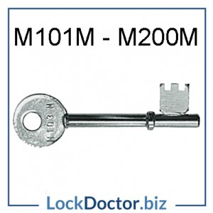 UNION MORTICE KEY M101M-M200M