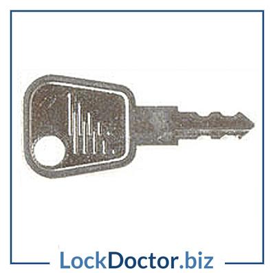 WL069 Fab n Fix Window Key available next day from lockdoctorbiz