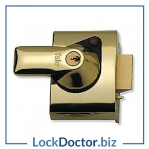 KML2737 YALE PBS2 40mm Rim Deadlock with keys and step by step fitting instructions on how to change the lock from lockdoctorbiz