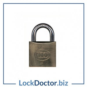 KMTRI32 BRASS Tricircle 32mm Locker Padlock KEYED TO DIFFER with 3 keys each available NEXT DAY from lockdoctorbiz