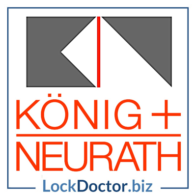 5001t 6001t konig neurath huwil key lock doctor. Black Bedroom Furniture Sets. Home Design Ideas