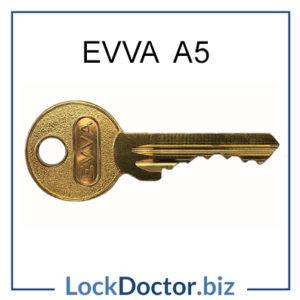 EVVA A5 Cylinder Key