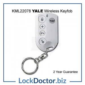 KML22078 YALE Easy Fit Wirefree Keyfob from lockdoctorbiz