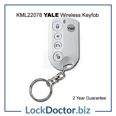 KML22078 YALE Easy Fit Wirefree Keyfob from lockdoctorbiz