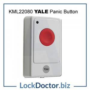 KML22080 RED YALE PANIC BUTTON for Yale Wireless Easy Fit Alarm Kits from lockdoctorbiz