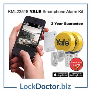 KML23518 YALE Smartphone Alarm Kit from lockdoctorbiz