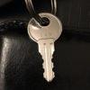 Keys cut from a photo