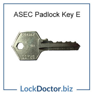 ASEC Padlock Key E