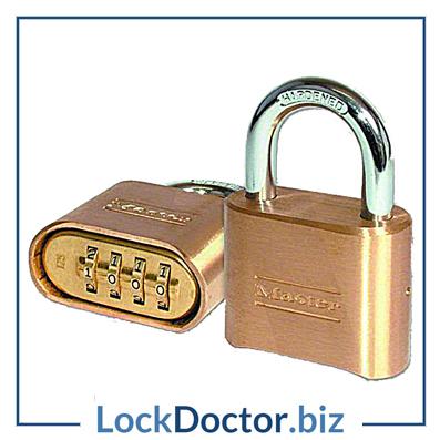 KML12844 Master lock 51mm 4 wheel combination padlock