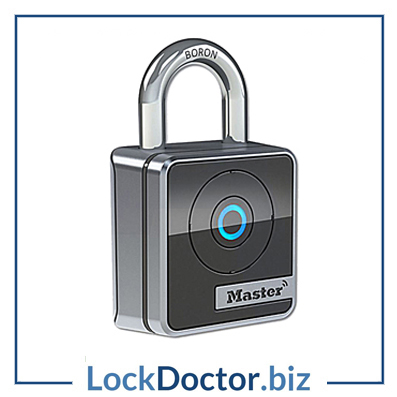 KML24893 MASTER LOCK Internal Open Shackle Bluetooth Padlock