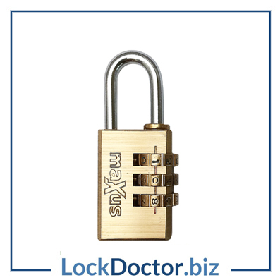 Kmx8020 Maxus 20mm Combination Padlock Lock Doctor