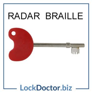 RADAR BRAILLE KEY