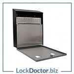 KM003 - Wall mounted lockable ash-bin box