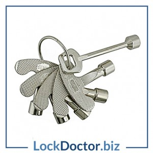 KM108 - Meter Cupboard key Set