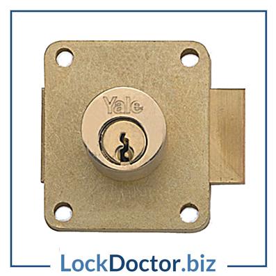 KM3045 22mm YALE 076 Cylinder Straight Cupboard Lock | Lock Doctor