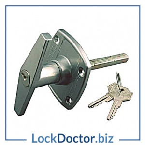 KMAS9984 BIRTLEY BIR0020 Easyfix T Locking Garage Door Handle