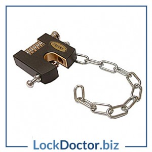 KML16142 Squire SHCB Sliding Shackle 65mm Combination Padlock with Chain