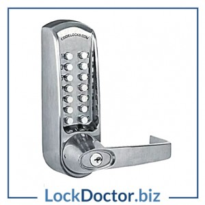 KML17067 - CODELOCKS CL600 Series Digital Lock No Latch