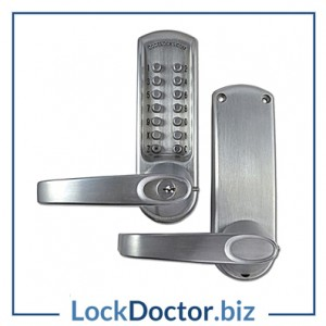 KML17069 - CODELOCKS CL600 Series Digital Lock With Tubular Latch