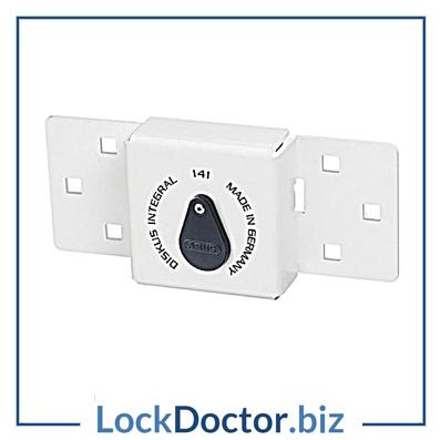 KML19385 ABUS 141 Series Integral Discus Van Lock Hasp & Padlock