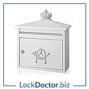 KML24420 BRABANTIA B210 Classic Style Post Box
