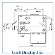 ASSA COIN LOCK Technical Details