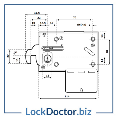 ASSA COIN LOCK Technical Details