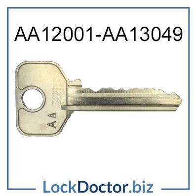 L&F COIN RETURN KEYS AA12001 to AA13049