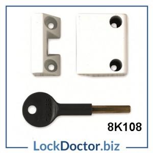 8K108 YALE WINDOW LOCK