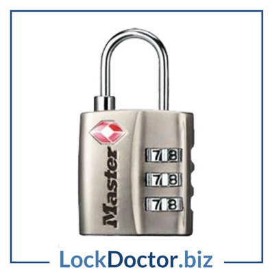 KML4680 MASTER TSA combination LUGGAGE PADLOCK